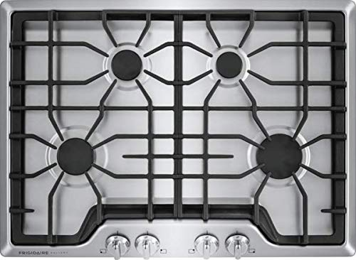 Frigidiare FGGC3045QS Gallery 30' Gas Cooktop 4 Burners, Stainless Steel