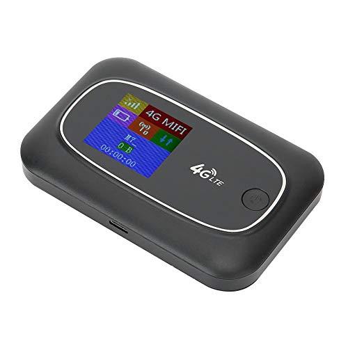 Dpofirs 10 (Max) dispositivos conexión pantalla portátil universal WiFi HD Router CAT4 Router WiFi 4G 150Mbps para red inalámbrica