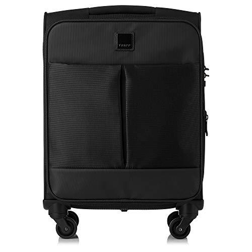 Tripp Black Style Lite 4W Expandable Cabin Suitcase