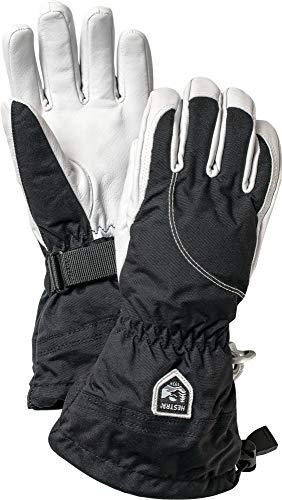 Hestra Heli Ski und kaltem Wetter Handschuh der Frauen, Damen, 30610, Black/Off White, 8