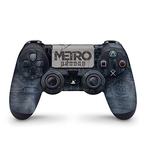 Skin Adesivo para PS4 Controle - Metro Exodus