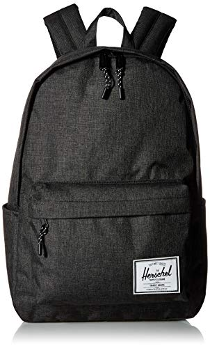 Herschel Classic Backpack, Black Crosshatch, 24.0L