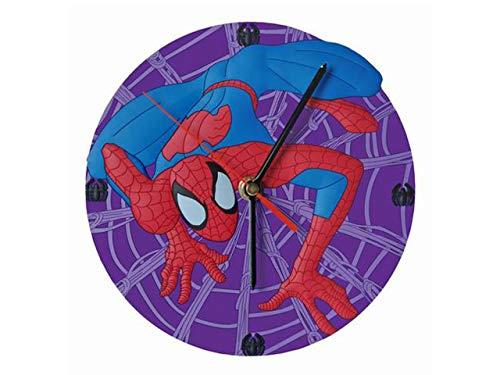 Horloges pvc spiderman violet