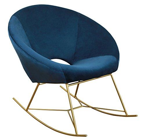 TOV Furniture Rocking Papasan Chair