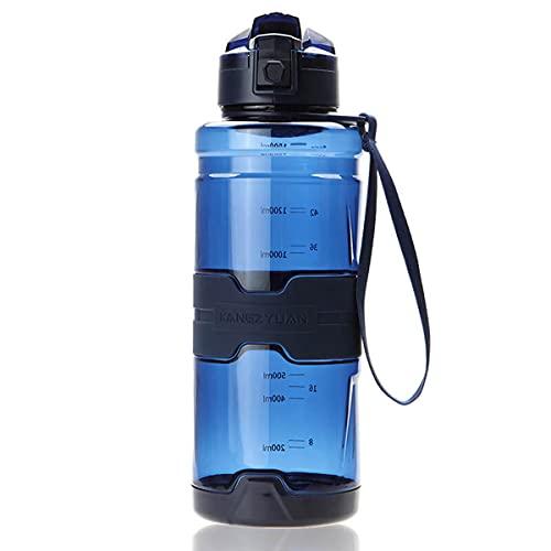 Borraccia sportiva da 700 ml Tritan per bambini/adulti, a prova di perdite e senza BPA, ecologica e portatile, con filtro, coperchio ribaltabile, apertura pop con 1 clic, riutilizzabile