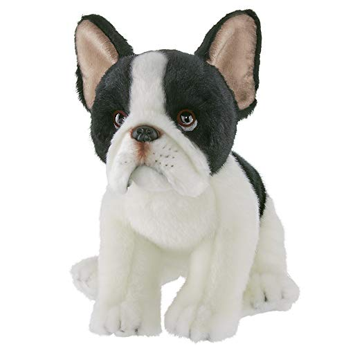 Bearington Oliver Plush French Bulldog Stuffed Animal, 13 Inch