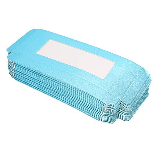 Cadeau Différent Boîtes à Cils, boîte à Cils, boîtes à Cils, boîte à Cils, pour Beauty Girl(Blue)