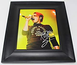 My Chemical Romance The Black Parade Gerard Way Signed Autographed 8x10 Glossy Photo Gallery Framed Loa