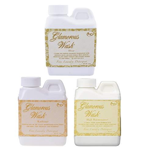 Tyler Candle Glamorous Wash Laundry Detergent 4oz Bundle (Diva, Kathina, High Maintenance)