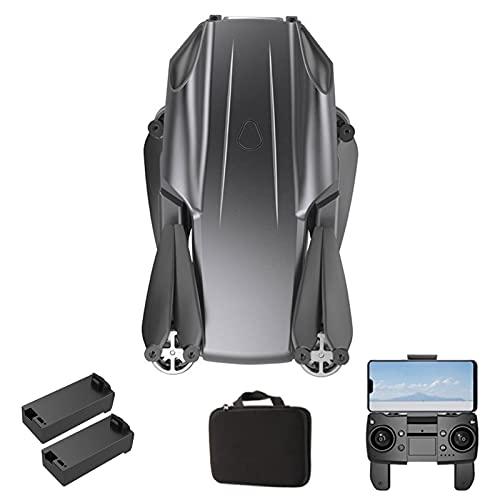 Drone GPS con 4K UHD con cámara Dual, Bolsa de Transporte, altitud Mantener, Sígueme y devolución automática, fácil de Usar para Principiantes 2 Batteries