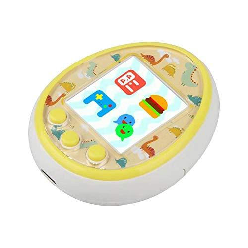 Virtuelles Haustierspielzeug Elektronisches Mini-Haustierspielzeug Für Kinder - Elektronisches Virtuelles Digitales Haustierspiel Mit Blinkender LED Für Kinder - Geburtstagsgeschenke, Mehrfarbig
