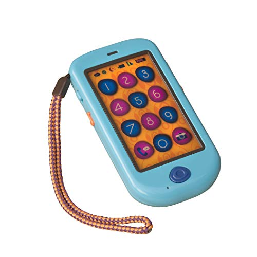 Jouets B- Telephone Jouet, BX1223Z, Multicolore