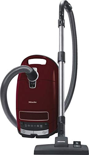 Miele 10976620 SGDF3 Complete C3 Pure Red Powerline mit Staubbeutel, 890 Watt/Parksystem und 12 m Aktionsradius/rot, Kunststoff, 4.5 liters