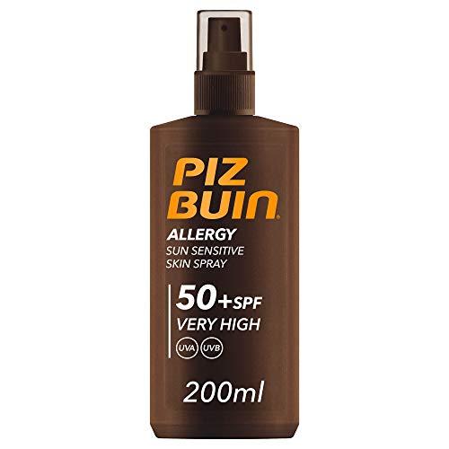 Piz Buin - Spray Allergy SPF 50 - Protección Muy Alta - Novedad - 200 ml