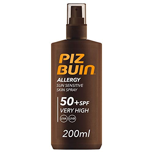 PIZ BUIN Allergy – Sun Sensitive Hautspray LSF 50+ – 200 ml