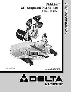 dewalt dw715 manual