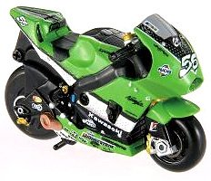 Choro Q ultra-realistic finish circuit Choro Q 06 KAWASAKI Moto GP (japan import)
