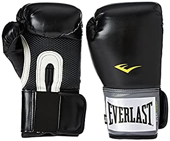 Pro Style Boxing Gloves-Black 16oz  PR