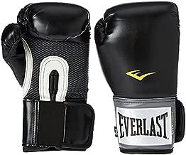 Everlast Pro Style Full Mesh Palm Training Boxing Gloves Size 14 Ounces, Black