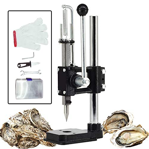 6-Plasmargon Oyster Clam Opener Machine with Oyster Knife