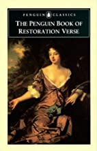 Restoration Verse, The Penguin Book of
