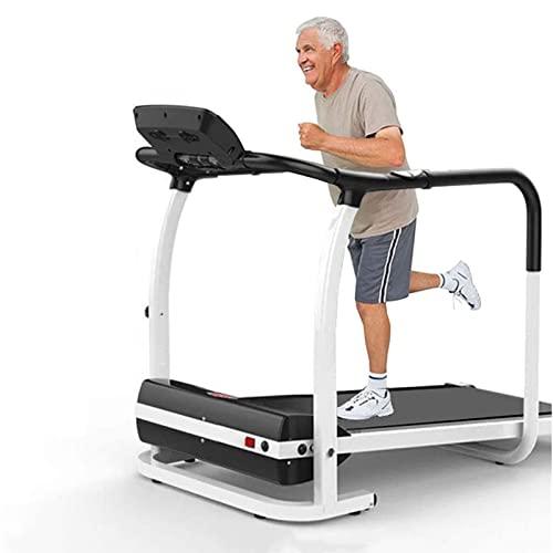 YIZHIYA Cinta de Correr motorizada Plegable de rehabilitación para Ancianos, Equipo Interior del Ejercicio de la Aptitud del Entrenamiento de la recuperación de la extremidad