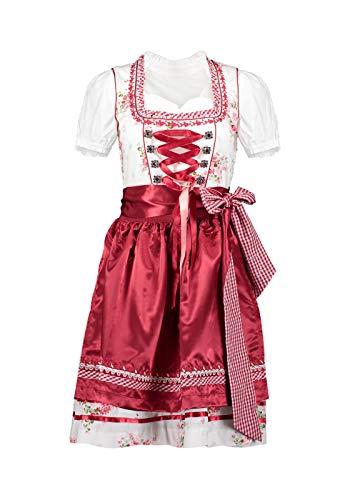 Hailys Dirndl Leni, Größe:XXL, Farbe:Rot