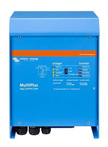 Victron Energy MultiPlus 3000VA 24-Volt Pure Sine Wave Inverter 70 amp Battery Charger