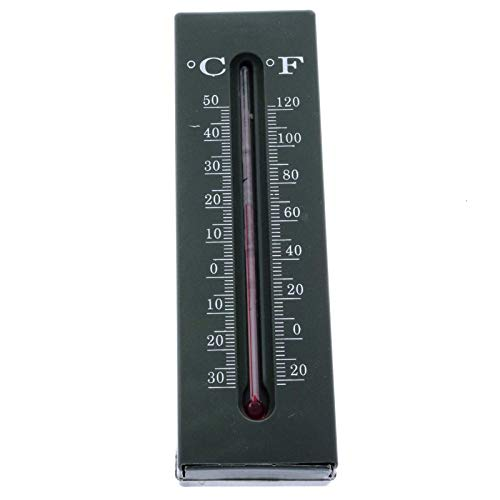 SIDCO Schlüsselversteck mit Thermometer Geheimfach Garten Versteck Außen Thermometer