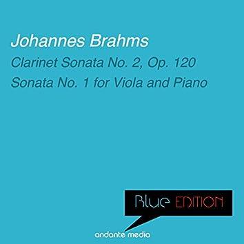 Blue Edition - Brahms: Sonatas Nos. 2 & 1