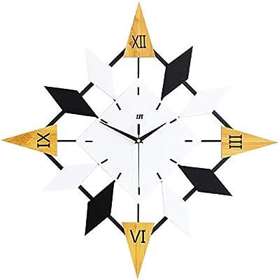 XIXIGZ Wall Clock Nordic Wall Clock Living Room Personality Fashion Creative Clock Restaurant Art Decoration Wall