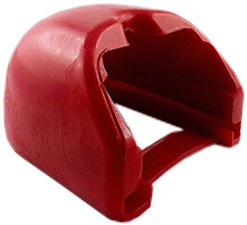 iapyx® Prallschutz soft-dock für Kupplungsklaue Zugkugelkupplungen (rot)