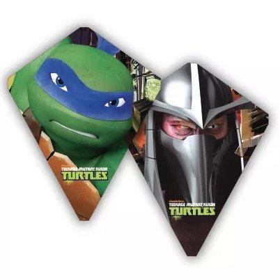 X-Kites FlipFlop Teenage Mutant Ninja Turtles Reversible 30 Inch Poly Diamond Kite