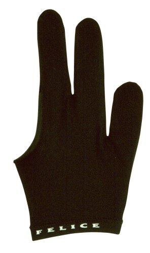 Winsport Billardhandschuh Felice, schwarz