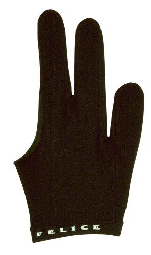 Billardhandschuh Felice, schwarz