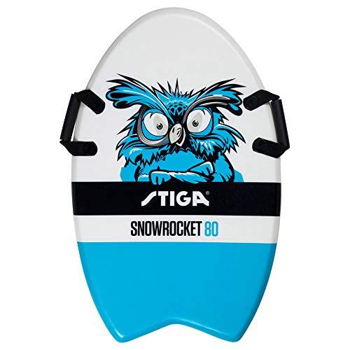 Stiga Snowrocket Owl 80 Blue Luge Unisex-Youth, Taille Unique