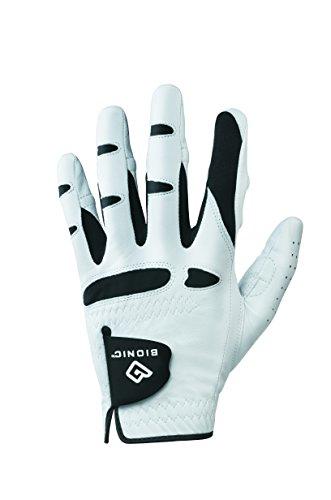 Golf-Handschuhe BIONIC® Classic Herren LH weiss-schwarz, Größe ML