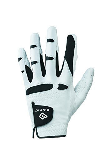 BIONIC Gloves –Men's StableGrip Golf Glove W/Patented Natural Fit Technology Made from...