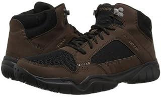 [クロックス] メンズ 男性用 シューズ 靴 スニーカー 運動靴 Swiftwater Hiker Mid - Espresso/Black [並行輸入品]