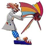 Wind Spinners Molinillos De Viento Whirlygigs, Divertida Estatua Al Aire Libre Payaso Molino De Viento Adorno De Manualidades De Jardín, Molinos De Viento Al Aire Libre Para El Jardín, Césped