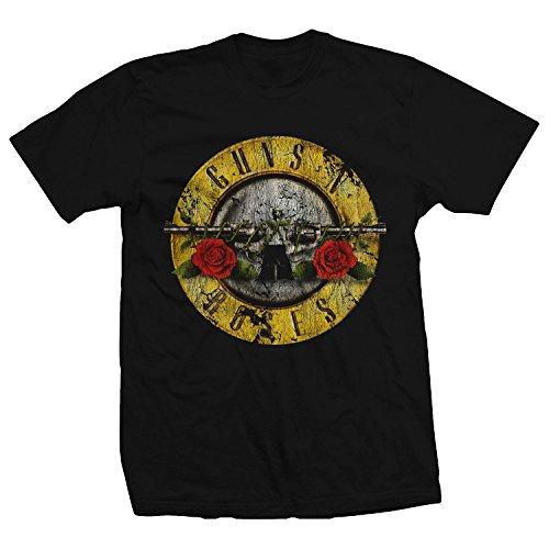 Bravado Guns N Roses Distressed Bullet T-Shirt, S to 3XL