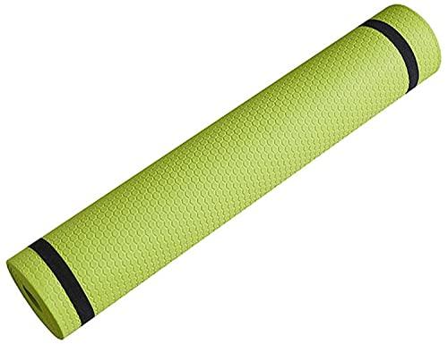 BERTY·PUYI Sports Fitness Yoga Mat 3MM-6MM Estera De Yoga De Espuma Cómoda Y Gruesa para Ejercicios De Yoga Y Pilates