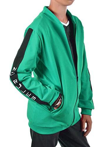 BEZLIT Jungen Kinder Hoodie Pullover Sweatjacke 30238 Grün 158