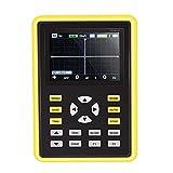 Kacsoo Osciloscopio Digital IPS portátil de mano de 2,4 pulgadas 5012H Osciloscopio portátil frecuencia de muestreo de 500 MS/s 100 MHz MultíMetro de Osciloscopio,para Mantenimiento