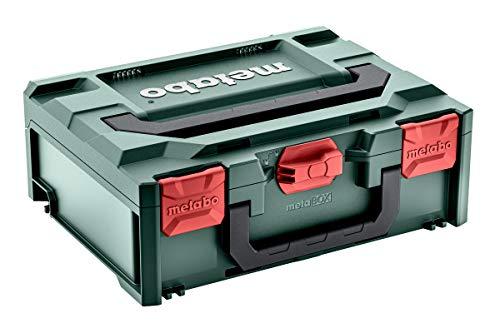 Metabo Werkzeugkoffer leer Metabox 145 (Inlay für Bohrschrauber + Schlagbohrschrauber, Koffer aus ABS, ohne Werkzeug, stapelbar, 396x296x145 mm, Volumen 11.2 l) 626886000