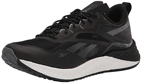 Reebok Women's Floatride Energy 3.0 Running Shoe, Black/Pure Grey/White, 7