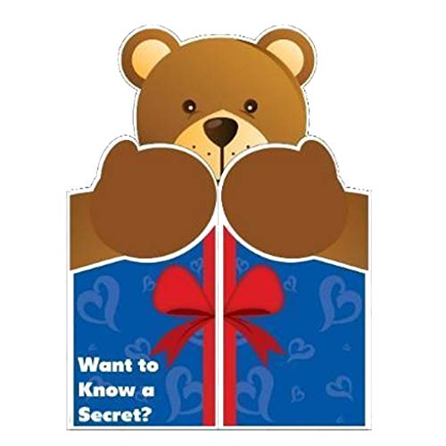 VictoryStore Jumbo Greeting Cards: Giant Love Card (Giant Bear Hug) 2' x 3' Card with Envelope