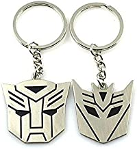 Libaraba Transformers Shaped Keychain Set Birthday Gift Car Key Pendant