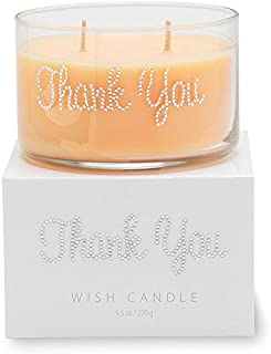 Primal Elements Thank You Wish Candle, 11-Ounce