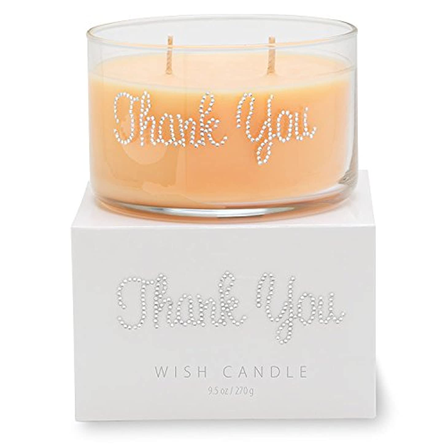 Primal Elements Thank You Wish Candle, 11-Ounce mslqysnxh